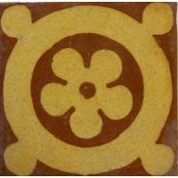 Pavé n°26. Fleur dans un cercle